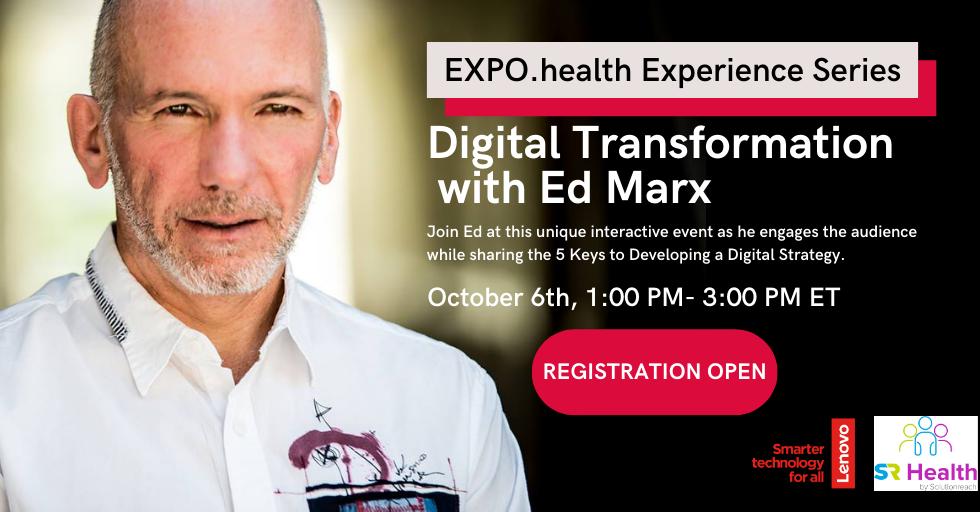 Ed Marx – Digital Transformation – Social Image